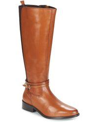 Dune - Taro Women's High Boots In Brown - Lyst