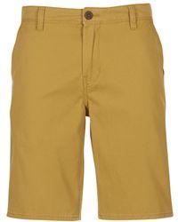 Quiksilver - Evdaychilightsh M Wkst Cmf1 Men's Shorts In Yellow - Lyst