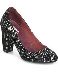 Desigual - Altea Bling Bling Women's Court Shoes In Black - Lyst