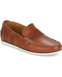 Barbour - Keel Men's Shoes (trainers) In Brown - Lyst