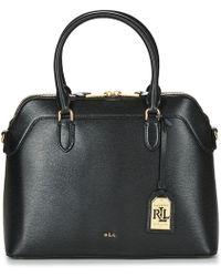 Lauren by Ralph Lauren | Newbury Nora Dome Women's Handbags In Black | Lyst