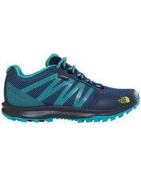 The North Face - W Litewave Fp Gtx Women's Shoes (trainers) In Multicolour - Lyst