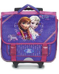 Disney - Reine Des Neiges Cartable Trolley 38cm Girls's Children's Rucksack In Purple - Lyst