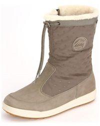 Lowa - Valloire Gtx Mid Schilf Reed Men's Snow Boots In Multicolour - Lyst