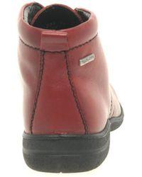 Josef Seibel - 380 Fabienne Women Round Toe Leather Red Chukka Boot - Lyst