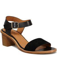 Anthology - Vadim Sandals 39399 Black Women's Flip Flops / Sandals (shoes) In Black - Lyst