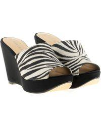 EVA LỌPEZ - Mule Shoes Woman Women's Sandals In Black - Lyst
