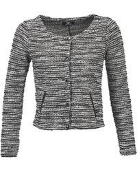 Le Temps Des Cerises - Morissey Women's Jacket In Grey - Lyst
