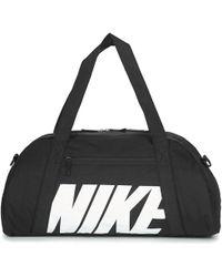 Nike - Women's Gym Club Training Duffel Bag Men's Sports Bag In Black - Lyst