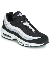 87980cc14947a Nike Air Max 90 Essential Gymnastics Shoes Black in Black for Men - Lyst