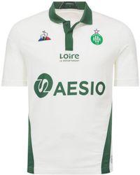 Le Coq Sportif - 2018-2019 St Etienne Away Football Shirt Women's T Shirt In White - Lyst