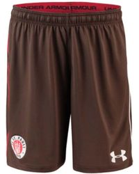 Under Armour - 2018-2019 St Pauli Home Football Shorts (timber) Women's Shorts In Brown - Lyst