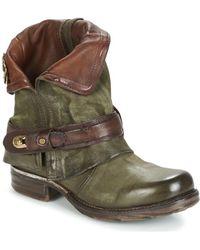 A.S.98 - SAINT BIKE femmes Boots en Vert - Lyst
