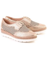 Hispanitas - Lucca Women's Casual Shoes In Gold - Lyst