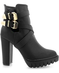 Roccobarocco - Hung Women's Low Ankle Boots In Black - Lyst