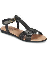Casual Attitude - Giero Women's Sandals In Black - Lyst