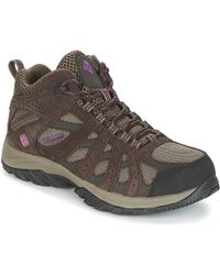 Columbia - Canyon Point Mid Waterproof Women's Walking Boots In Brown - Lyst