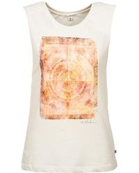 Billabong - Undefeated Women's Vest Top In White - Lyst