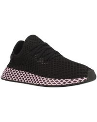 9cb15c60d0666 adidas - Deerupt W Women s Shoes (trainers) In Black - Lyst