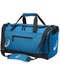 Asics - Tr Core Holdall M Women's Sports Bag In Blue - Lyst