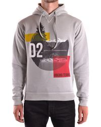 DSquared² - - Men's Hoodie S74gu0204 Men's Sweatshirt In Grey - Lyst