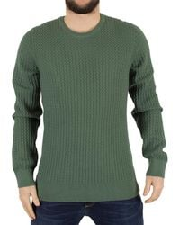 J.Lindeberg - Ryan Urban Braid Knit Jumper - Lyst