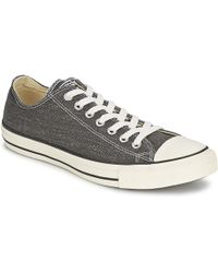 Converse - Ct Good Wash Ox Men's Shoes (trainers) In Grey - Lyst