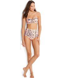 5ba438b26a Pain De Sucre , High-waisted Bikini Bottom, Kaa Print - Tobago Women's In  Brown in Brown for Men - Lyst
