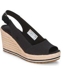 Timberland - Nice Coast Slingback Women's Sandals In Black - Lyst