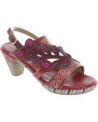 Laura Vita - Belfort 87 Women's Sandals In Red - Lyst