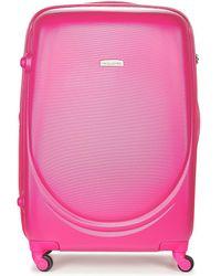 David Jones - Marquis 95l Women's Hard Suitcase In Multicolour - Lyst