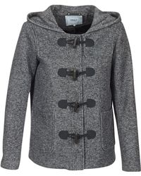 ONLY - Cecilia Women's Coat In Grey - Lyst
