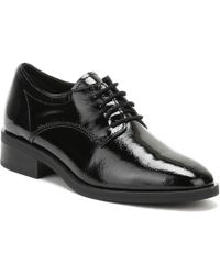 TOWER London - Tower London Womens Black Naplack Leather Lace Up Shoes Women's In Black - Lyst