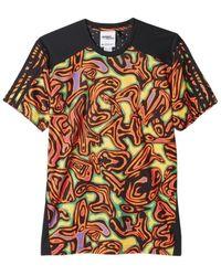 ceb704d82040 adidas - X Jeremy Scott Psychedelic Climachill Men s T Shirt In Black - Lyst