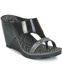 Zaxy - Glamour Top Iii Women's Flip Flops / Sandals (shoes) In Black - Lyst