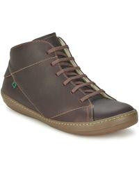 El Naturalista - Meteo Men's Mid Boots In Brown - Lyst