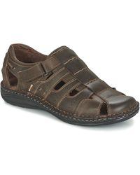 Casual Attitude - Zirondel Men's Sandals In Brown - Lyst