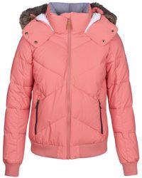 Roxy - Hanna Women's Jacket In Pink - Lyst
