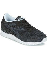 Diadora - Titan Weave Men's Shoes (trainers) In Black - Lyst