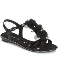 Tamaris - Gacapi Women's Sandals In Black - Lyst