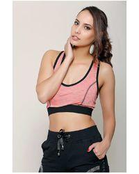 Infinie Passion - Sports Bra 00w018491 Women's Vest Top In Orange - Lyst