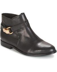 Betty London - Doodi Women's Mid Boots In Black - Lyst