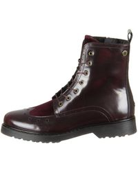 351b5a255f54ca ... Tommy Hilfiger - Fw0fw03587296 Women s Low Ankle Boots In Multicolour -  Lyst super cheap f2902 ...