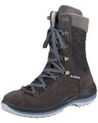 Lowa - Barina Ii Gtx 420408 0937 Anthrazit Ledergtx Men's Snow Boots In Multicolour - Lyst