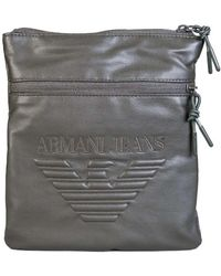 Armani Jeans - Bag Messenger 932179 7a937 Men's Messenger Bag In Green - Lyst