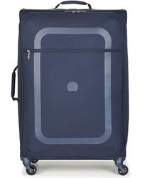 Delsey - Dauphine Dauphine 3 Val Trol 4r 77 Men's Hard Suitcase In Blue - Lyst