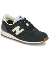 New Balance Wl574 Women s Shoes (trainers) In Black in Black - Lyst aa8e80715