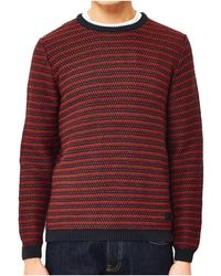 Only & Sons | Damien Sweatshirt Red Men's Jumper In Red | Lyst
