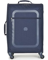 Delsey - Dauphine 3 Val Trol 4r 66 Women's Hard Suitcase In Blue - Lyst