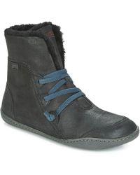 Camper - PEU CAMI femmes Boots en Noir - Lyst